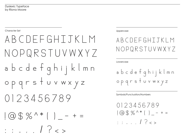 1-typeface all character set
